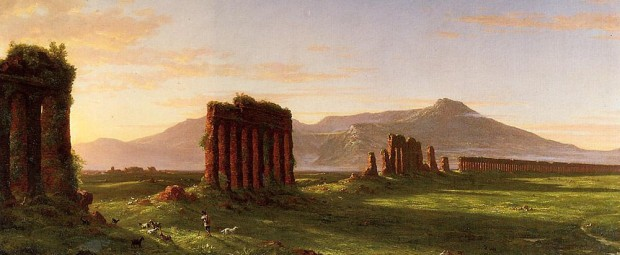 "Painting: ""Roman Campagna"" by Thomas Cole"